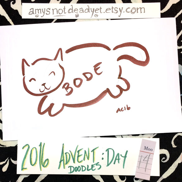 Advent 2016 day 14: BODE