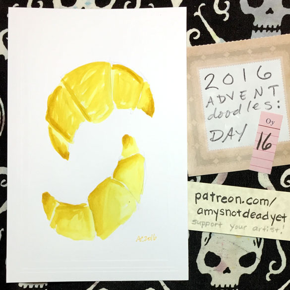 Advent 2016 day 16: Croissants