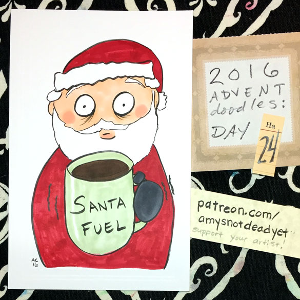 Advent 2016 day 24: Santa Fuel, for Jeff
