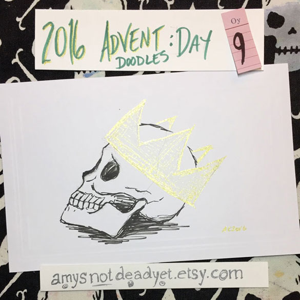 Advent 2016 day 9: Sherrinford the Skull