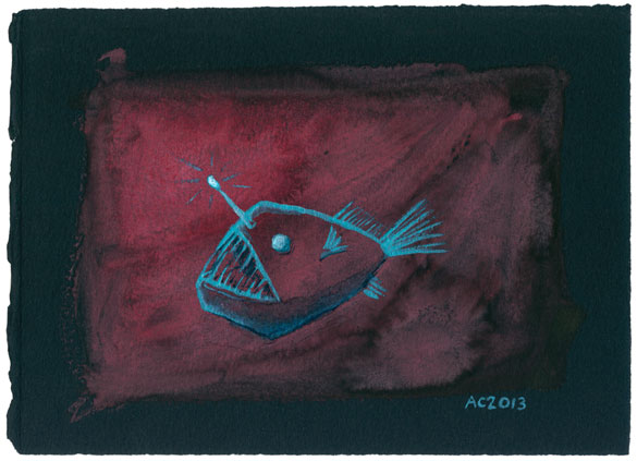 Angler Fish 1 by Amy Crook