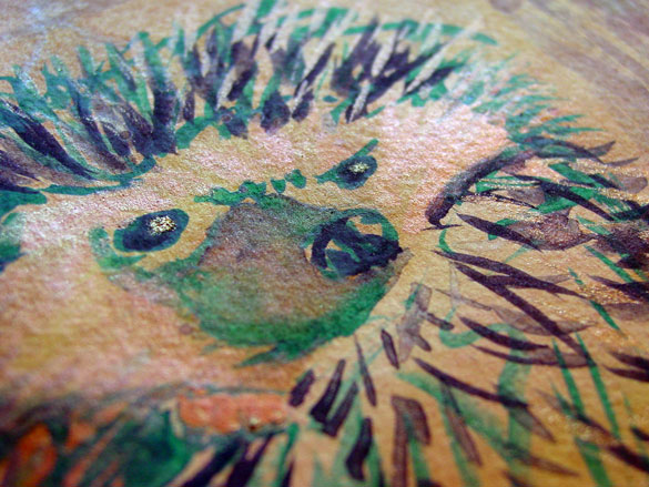 Angry Hedgehog, detail, by Amy Crook