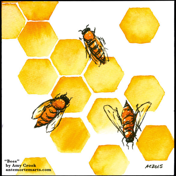 Bees by Amy Crook