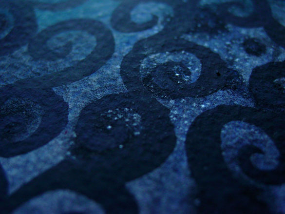 Black Iron Filigree, detail, by Amy Crook