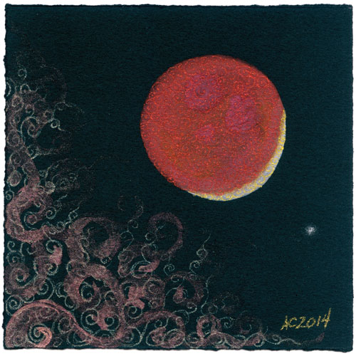 Blood Moon 4 by Amy Crook