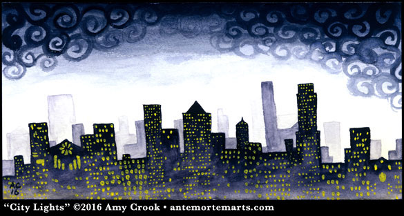 City Lights by Amy Crook