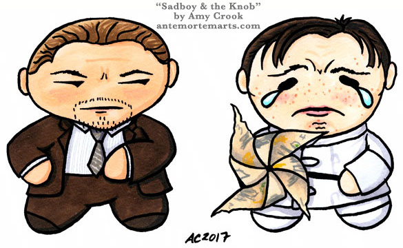 Sadboy & the Knob, Inception parody art by Amy Crook