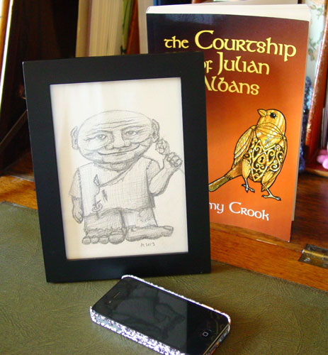 Con the Earth Sprite, and the book from which he came, both by Amy Crook