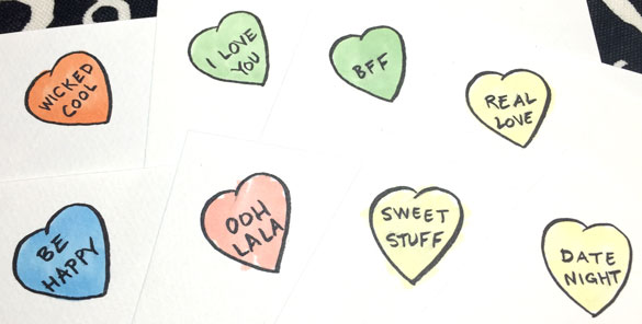 Conversation Heart art prompts