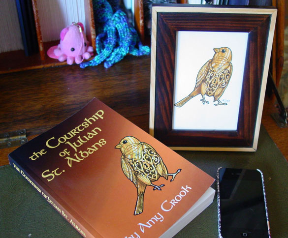 Horace and The Courtship of Julian St. Albans, both by Amy Crook