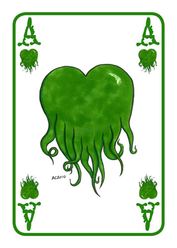 Ace of Cthulhu Hearts by Amy Crook
