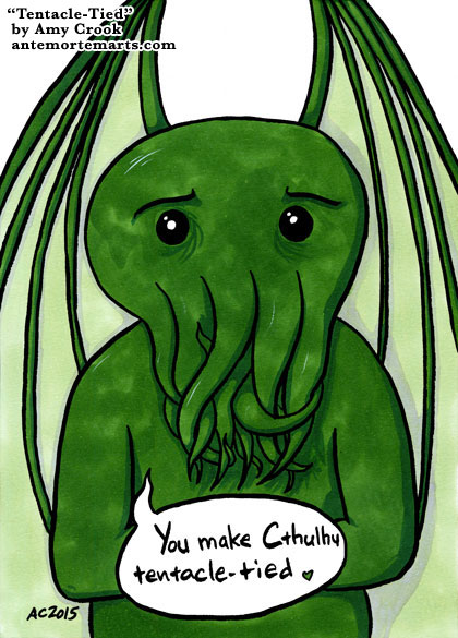 Tentacle-Tied, a Cthulhu comic by Amy Crook