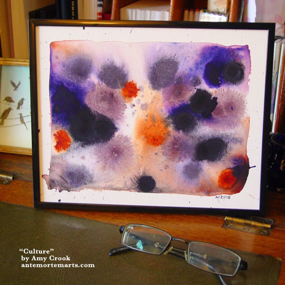 Culture, framed art by Amy Crook