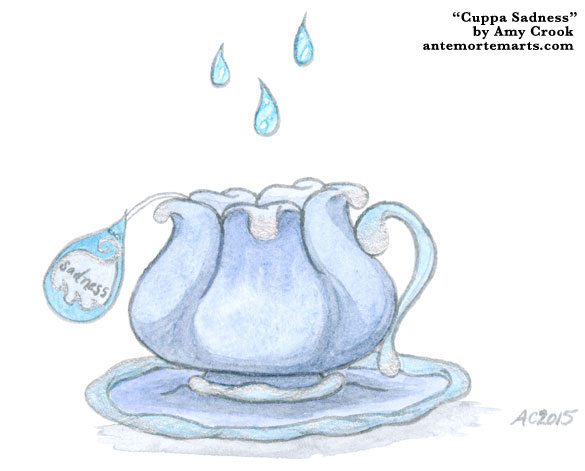 Cuppa Sadness by Amy Crook