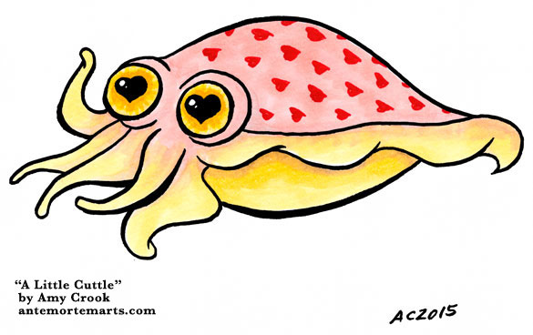 A Little Cuttle by Amy Crook
