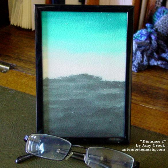 Distance, framed art by Amy Crook