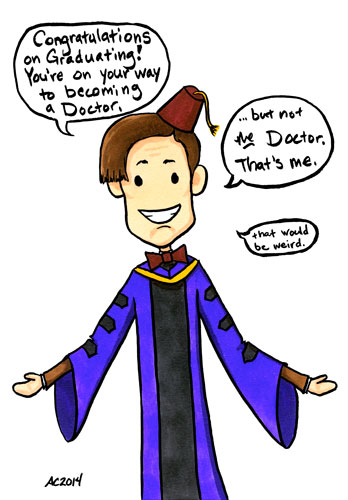Doctoral, a Doctor Who parody comic by Amy Crook