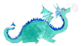 dragon for Tara Swiger's Map-Making Guide