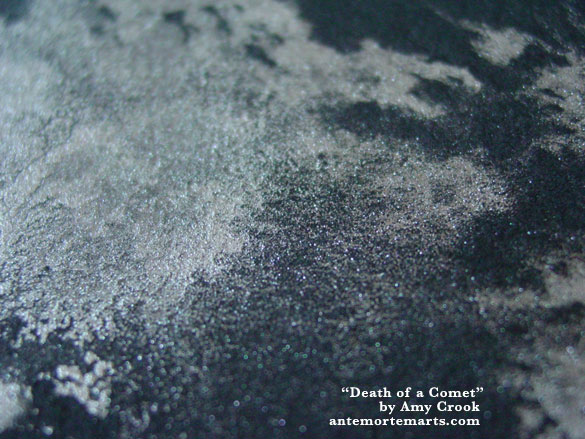 Death of a Comet, detail, by Amy Crook