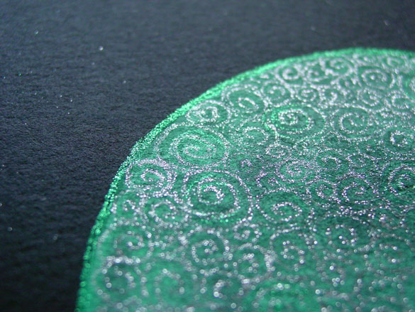 Filigree Moon 3, detail, by Amy Crook