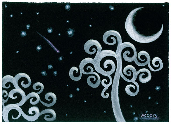 Ghost Moon by Amy Crook