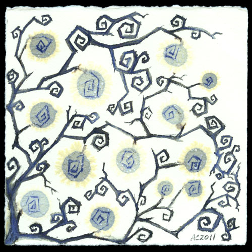 Goth Vines art by Amy Crook
