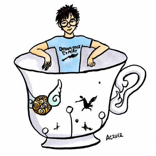 Teacup Potter cartoon by Amy Crook
