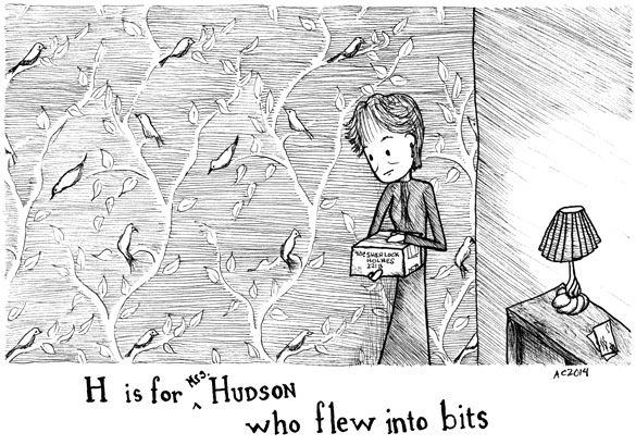 Baker Street Tinies: H is for (Mrs.) Hudson by Amy Crook
