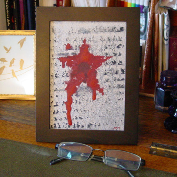I Won't Be Your Winter, take 2, framed art by Amy Crook