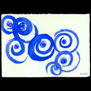 In the Spiraling Blue