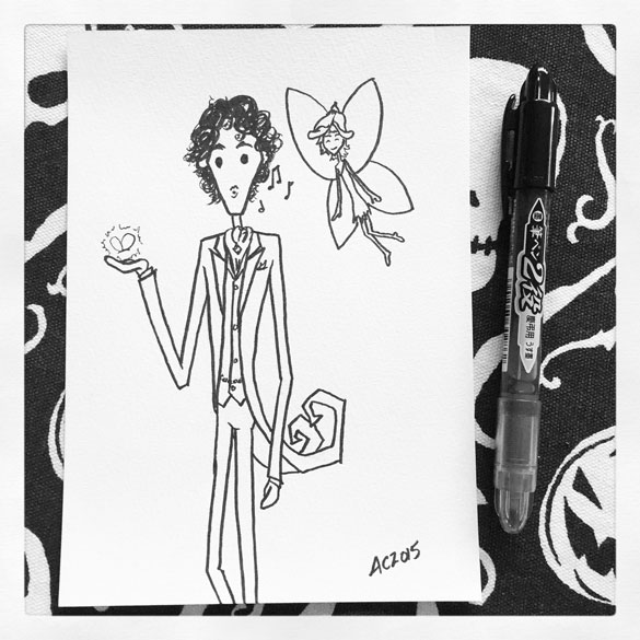 Day 1 - Alex Benedict and a Flower Fairy