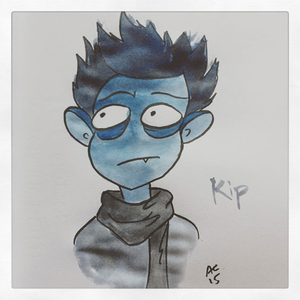 Day 19 - Kip from Monsterkind