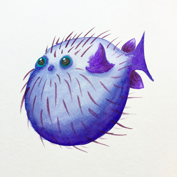 Day 30 - Blowfish