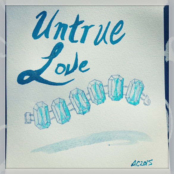 Day 5 - Untrue Love cover sketch