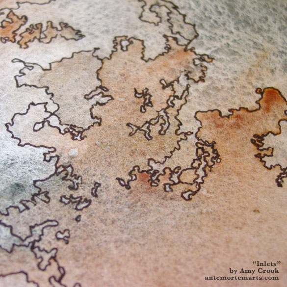 Inlets, detail, by Amy Crook