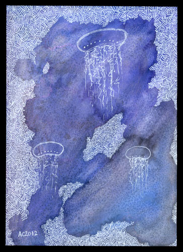 Jellyfish Deeps 2 by Amy Crook