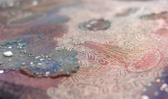 Jellyfish Deeps, detail, by Amy Crook