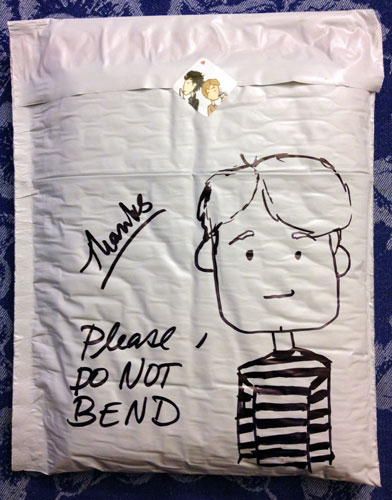 Don't Bend John Watson sketch by Amy Crook
