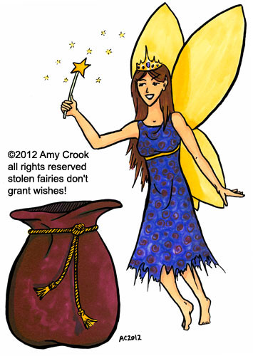 Fairy Godmother commission by Amy Crook