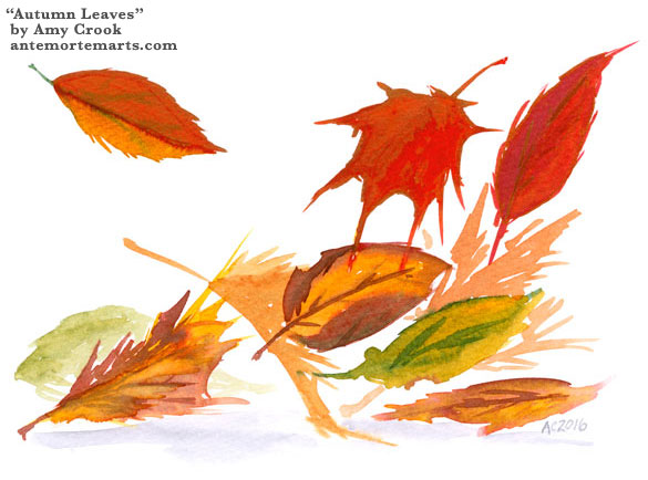 Autumn Leaves by Amy Crook