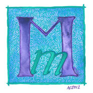 M is for Majuscule and Miniscule