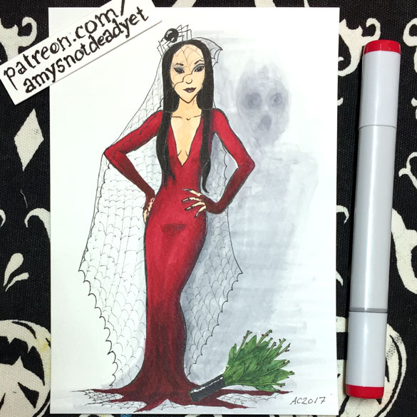 Morticia Frump's Wedding by Amy Crook