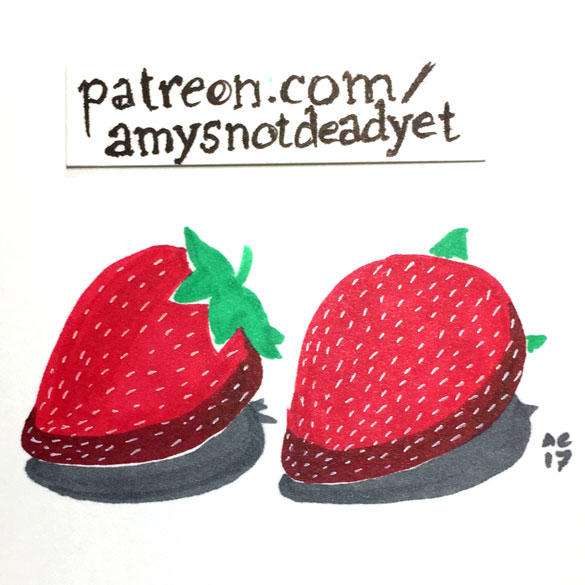 Strawberries by Amy Crook
