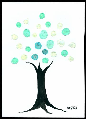 Mod Tree, art by Amy Crook