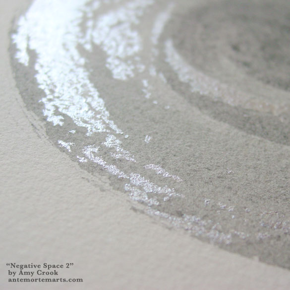 Negative Space 2, detail, by Amy Crook