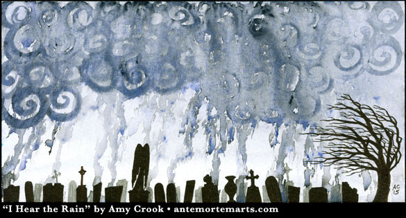 I Hear the Rain by Amy Crook