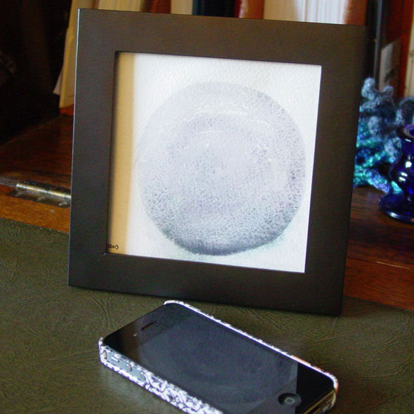 Shadow, framed art by Amy Crook