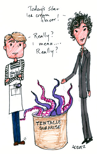 Sharpie Sherlock silliness by Amy Crook