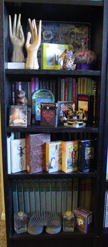 Bookcase 1 of 6*, bottom half