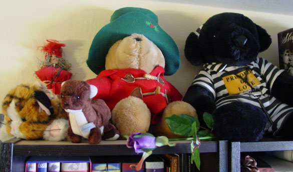 top shelf, plushies and silliness